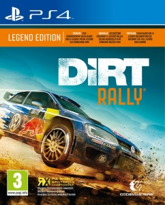 DIRT RALLY EDYCJA LEGEND + FILM COLIN PS4 EDITION