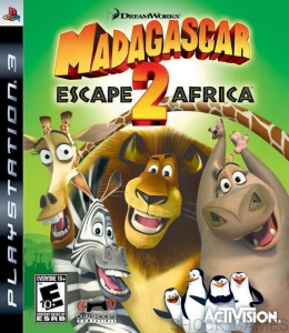 GRA PS3 MADAGASCAR 2 ESCAPE AFRICA MADAGASKAR