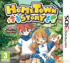 GRA NINTENDO 3DS HOMETOWN STORY HOME TOWN
