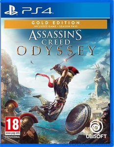 ASSASSIN'S CREED ODYSSEY GOLD PL PS4 ASSASINS EDITION