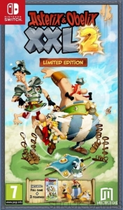 ASTERIX & OBELIX XXL 2 NINTENDO SWITCH LIMITED EDITION + FIGURKI XXL2