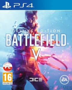 BATTLEFIELD V 5 DELUXE EDITION + KOD DLC PL PS4