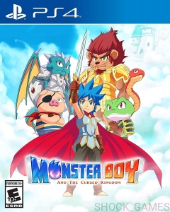 GRA PS4 MONSTER BOY AND THE CURSED KINGDOM