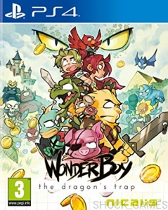WONDER BOY THE DRAGON'S TRAP PS4 DRAGONS