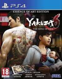 YAKUZA 6 ESSENCE OF ART EDITION PS4 + DODATKI