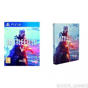 BATTLEFIELD V 5 PL PS4 + STEELBOOK