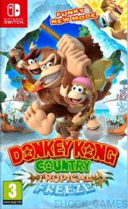 GRA NINTENDO SWITCH DONKEY KONG COUNTRY TROPICAL FREEZE