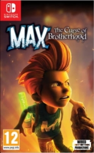 GRA NINTENDO SWITCH MAX THE CURSE OF BROTHERHOOD