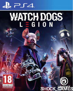 GRA PS4 WATCH DOGS LEGION PL