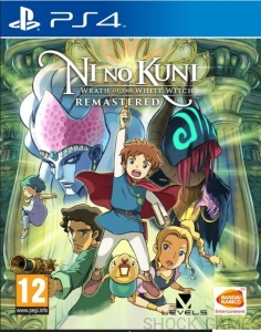 GRA PS4 NI NO KUNI WRATH OF THE WHITE WITCH REMASTERED