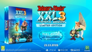 ASTERIX & OBELIX XXL 3 PS4 THE CRYSTAL MENHIR LIMITED EDITION