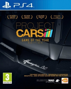 PROJECT CARS PL PS4 GOTY GAME OF THE YEAR EDITION + DODATKI