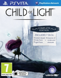 GRA PS VITA CHILD OF LIGHT PSV
