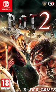 A.O.T ATTACK ON TITAN 2 NINTENDO SWITCH