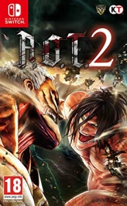 A.O.T. ATTACK ON TITAN 2 NINTENDO SWITCH AOT II