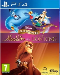 GRA PS4 DISNEY CLASSIC GAMES ALADDIN AND LION KING KRÓL LEW