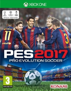 PRO EVOLUTION SOCCER 2017 XBOX ONE PES 17