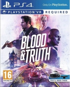 BLOOD AND TRUTH PLAYSTATION VR PL PS4
