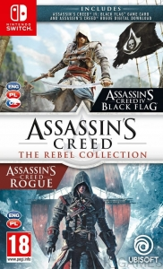 ASSASSIN'S CREED THE REBEL COLLECTION PL NINTENDO SWITCH BLACK FLAG + ROGUE