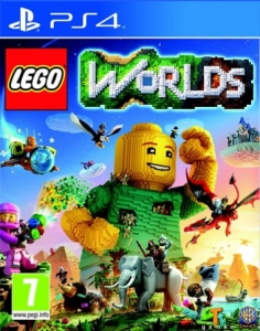 GRA PS4 LEGO WORLDS PL
