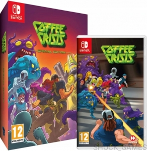 GRA NINTENDO SWITCH COFFEE CRISIS SPECIAL EDITION