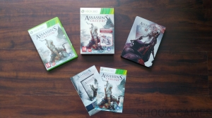 GRA XBOX 360 ASSASSIN'S CREED III 3 PL SPECIAL EDITION ASSASSINS