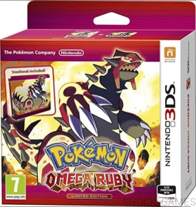 GRA NINTENDO 3DS POKEMON OMEGA RUBY STEELBOOK LIMITED EDITION