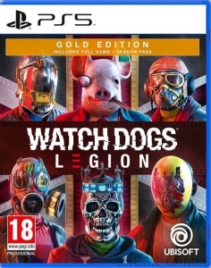 GRA PS5 WATCH DOGS LEGION PL GOLD EDITION