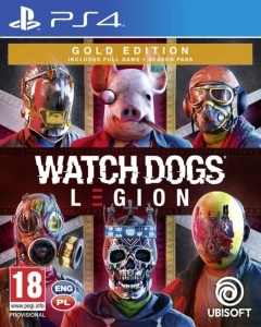 GRA PS4 WATCH DOGS LEGION PL GOLD EDITION