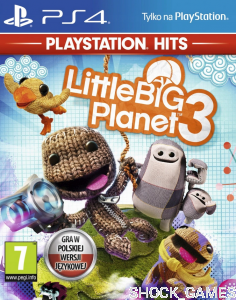 GRA PS4 LITTLE BIG PLANET 3 PL