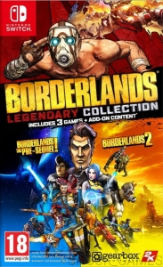 GRA NINTENDO SWITCH BORDERLANDS LEGENDARY COLLECTION
