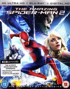 THE AMAZING SPIDERMAN 2 4K ULTRA HD UHD HDR SPIDER-MAN SPIDER MAN