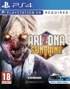 ARIZONA SUNSHINE PLAYSTATION VR PS4
