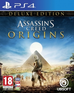 ASSASSIN'S CREED ORIGINS PL PS4 ASSASSINS DELUXE EDITION