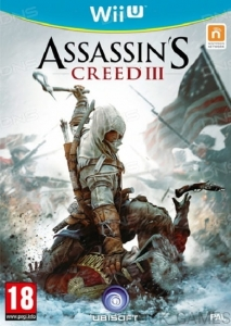 ASSASSIN'S CREED III 3 NINTENDO WIIU WII U