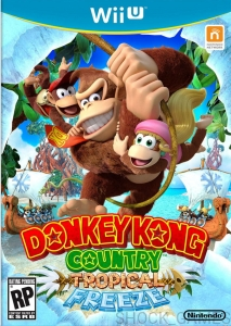 DONKEY KONG COUNTRY TROPICAL FREEZE Wii U WiiU NINTENDO