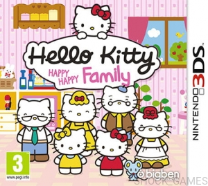 GRA NINTENDO 3DS HELLO KITTY HAPPY HAPPY FAMILY