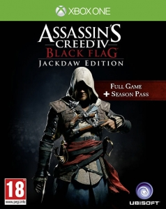 ASSASSIN'S CREED IV 4 BLACK FLAG PL JACKDAW EDITION + KOD DLC XBOX ONE ASSASSINS