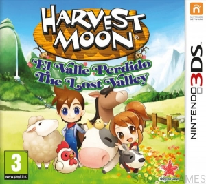 HARVEST MOON THE LOST VALLEY 3DS NINTENDO