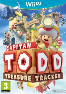 CAPTAIN TOAD TREASURE TRACKER Wii U WiiU NINTENDO