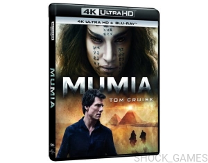 MUMIA PL 4K ULTRA HD + BLU-RAY UHD HDR 2017 TOM CRUISE