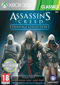 ASSASSIN'S CREED HERITAGE COLLECTION PL XBOX 360 ASSASSINS