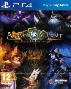 ARMA GALLANT DECKS OF DESTINY  PS4