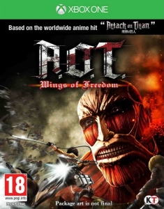 A.O.T. WINGS OF FREEDOM ATTACK ON TITAN AOT XBOX ONE