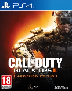 CALL OF DUTY BLACK OPS III 3 HARDENED EDITION PS4 COD