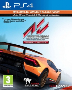 ASSETTO CORSA PL PS4 ASSETTOCORSA ULTIMATE EDITION