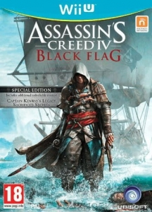 ASSASSIN'S ASSASSINS CREED IV 4 BLACK FLAG Wii U WiiU