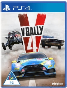 V-RALLY 4 PL PS4 RAJDY WRC IV