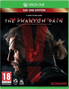 METAL GEAR SOLID V THE PHANTOM PAIN DAY ONE EDITION + KOD DLC XBOX ONE