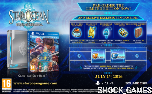 STAR OCEAN 5 PS4 INTEGRITY AND FAITHLESSNESS EDYCJA LIMITOWANA V LIMITED EDITION STEELBOOK